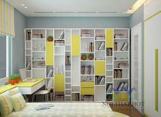 Tủ đồ thông minh cho bé thỏa sức sáng tạo - thiết kế chung cư Time City