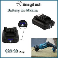 The Enegitech 18V Lithium-ion Replacement battery for Makita is available at an affordable cost. Visit https://goo.gl/s4x6nQ to get this product. #replacementbattery #batteryformakita #makitareplacementbattery
