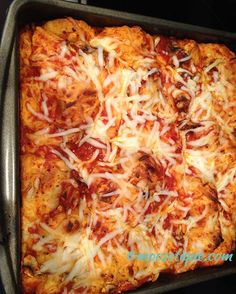 Bubble-Up Pizza - another favorite from Pinterest... - Moosetique Musing