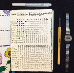 11 Ideas for Bullet Journal Habit Trackers That Will Help You Stay Motivated