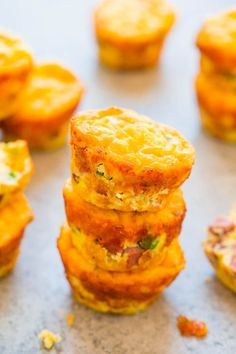 Healthy, portable little egg muffins that you can enjoy without worry at under 100 calories each. That's the best kind of breakfast. Or snack. Or dinner. I thought the muffins would be a good way to sneak in a few extra servings of vegetables andprotein for my family and they're naturally gluten-free. But found myself …