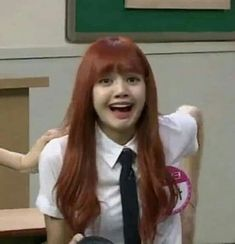 Blackpink Funny, Memes Funny Faces, Funny Kpop Memes, Funny Girls, Blackpink Lisa, Kim Jennie, Memes Blackpink, Yg Artist, Reaction Face