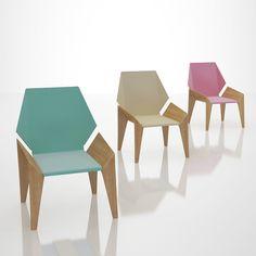 Origami Chair Design by DesignNobis in Furniture Designs
