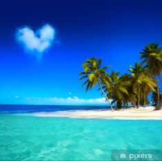 Tropical Beaches With Palm Trees Big Island Hawaii, Island Beach, Small Island, Tropical Island, Jamaica Vacation, Vacation Trips, Vacation Spots, Beach Pink, The Beach