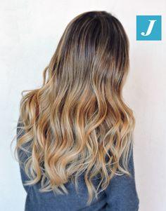 Stylish Summer _ Degradé Joelle #cdj #degradejoelle #tagliopuntearia #degradé #igers #musthave #hair #hairstyle #haircolour #longhair #ootd #hairfashion #madeinitaly #wellastudionyc