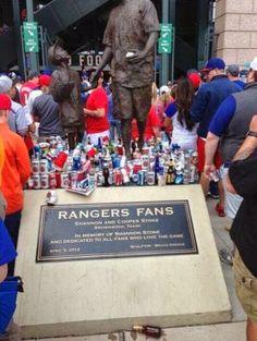 For Shame Texas Rangers Fans--For Shame! [PHOTO] | FatManWriting