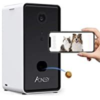 Aonesy Dog Camera Wifi Smart Pet Camera With Treat Dispenser For Dogs And Cats Night Vision 2 Way Audio App Co In 2020 Pet Camera Security Cameras For Home Pet Monitor