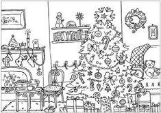 Coloriages de Noël.