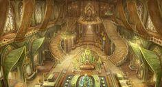 elf house interior, suyoung moon on ArtStation at… Fantasy Rooms, Fantasy City, Fantasy Forest, Fantasy Castle, Fantasy House, Fantasy Places, Fantasy Kunst, Fantasy World, Fantasy Art Landscapes