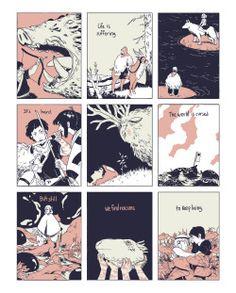 livertaker: a 9 panel tribute to Princess Mononoke, one of my favorite movies… Studio Ghibli Art, Studio Ghibli Movies, Hayao Miyazaki, Totoro, Mononoke Cosplay, Desenhos Love, Comics Illustration, Chihiro Y Haku, Arte Indie
