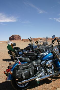 Iron Horses in the Indian Country (Monument Valley, USA)