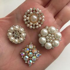 Set of 4 - $3 DM or leave email to order with quantity.  Also available at TheDecoKraft.com  #thedecokraft #blingbling #alloy #resin #resinsupplier #blingbling #bling #blingers #blingblingbling #diyglam #craftsupplies #customcases #casemaker #crafters #customdesigns #cellphonebling #diy #bouquet #handmade #kawaii #claycabochons #cabochons #rhinestones #flatbackpearls #flatbackrhinestones #wedding #supplier #designerglam #sale