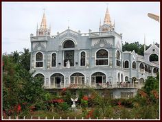 The Monastery of the Holy Eucharist.it's a pilgrim's paradise in Cebu, Philippines Visayas, Cebu City, Eucharist, Pilgrim, Philippines, Paradise, Mansions, House Styles, Pictures