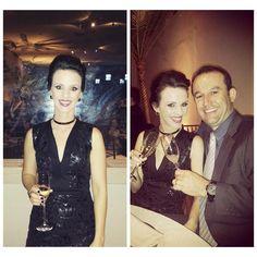 Casal lindoo!!! ❤️ Nossa cliente mais que especial Sara Mazão arrasando de Vestido em Guipir w/ couro eco + Colar Choker = AMAMOS o seu #lookcarolcamilamodas   #clientelinda #glamour #luxury #dresslovers #carolcamilamodas #muitoamor #brindeavida
