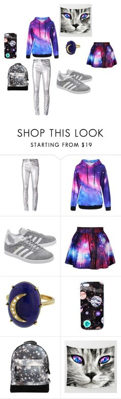 """""""Galaxy"""" by carcar122204 ❤ liked on Polyvore featuring Étoile Isabel Marant, adidas Originals, Andrea Fohrman, Nikki Strange and Mi-Pac"""