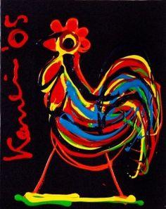 Haan (coq), Jacob Kanbier Dutch Painters, Hens, Bird, Painting, Image, Roosters, Artists, Modern Art, Shop Signs