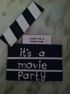 Movie Party - Let's all go to the movies...and get ourselves a treat!