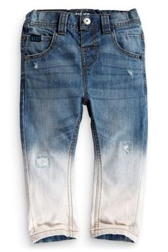 Buy 5 Pocket Dip Dye Jeans (3mths-6yrs) online today at Next: United States of America