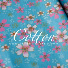 blue cotton pink sakura girls Fabric by meter. A bit stiff, breathable, natural, medium-weight, non-sheer fabric. More Japanese Fabric https://www.etsy.com/shop/JPfabric?section_id=15955435 Blue Fabric https://www.etsy.com/shop/JPfabric/search?search_query=blue ► COUPONS ► click --►