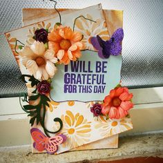 HappyMomentzz crafting by Sharada Dilip: Grateful water-colour canvas