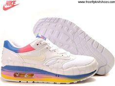 Latest Listing Cheap Mens Nike Air Max 1 Premium Kakigoori Pack White White Argon Blue Flamingo Shoes Lightweight Shoes