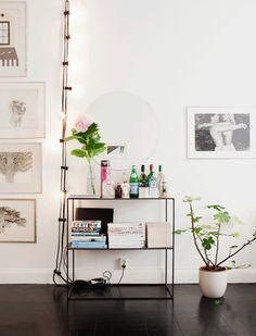 White Living Room Inspiration - via Hanna's Room