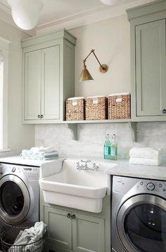 40+ Smart Vintage Laundry Rooms Ideas