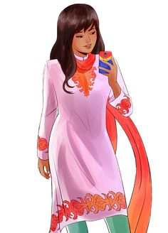 Ms Marvel in traditional clothing fanart by sifacofa Marvel Women, Marvel 3, Marvel Girls, Marvel Heroes, Captain Marvel, Marvel Universe, Marvel Comics, Marvel Logo, Ms Marvel Kamala Khan