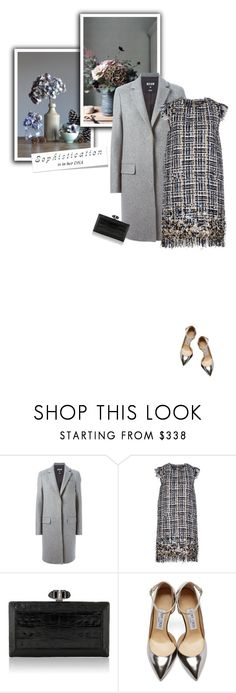 """Sophistication is in her DNA"" by sophiek82 ❤ liked on Polyvore featuring mode, MSGM, Judith Leiber, Jimmy Choo, women's clothing, women, female, woman, misses et juniors"