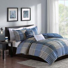 Cozy Soft® Corey Reversible Comforter Set - www.BedBathandBeyond.com