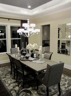A Beautiful Line Of Vision Into The Dining Room In Providence Best Dining Room Furniture Jacksonville Fl Design Ideas