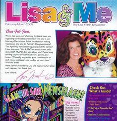 It's her! Lisa Frank!