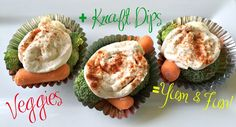 Veggie Cupcakes - An easy and fun to make snack