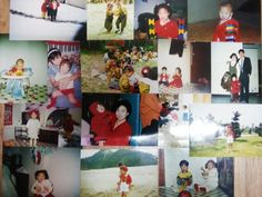 This is the red collection of mine from baby to child! As you can see, i had a lot of red items in my room. and they are almost cloth! but it's variety. there are red hats, red outer, red socks and so on