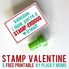 plucky momo: STAMP-endous Valentines!