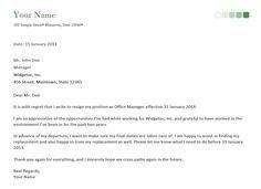 ResignationLetterSamplePng   Charan Resign Letter