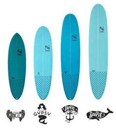 The Sea Spirit is a traditional single fin longboard for girls who want to cruise. A fantastic mid length 2+1 ideal as your first board, a stylish alternative t
