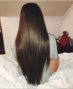 Nazanin Kavari's hair is legit hair goals