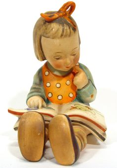 Awesome Vintage Hummel figurines can be purchased fairly reasonably and give a great deal of charm to