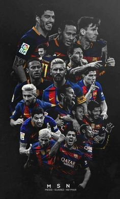 Barcelona, messi, and suarez image Neymar Barcelona, Barcelona Football, Barcelona Futbol Club, Club Football, Fc Barcelona Wallpapers, Lionel Messi Wallpapers, Messi And Neymar, Leonel Messi, Soccer Art
