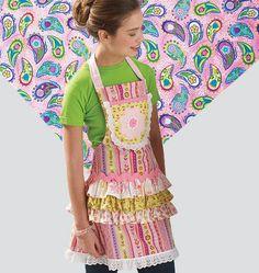 Sewing Pattern  Ellie Mae Designs Apron от DesignerAlleyFabrics