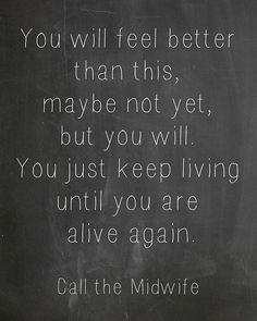 Call the Midwife quote