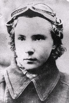 Lydia Litvyak - At only 21, she became the first female fighter pilot to shoot down an enemy aircraft.