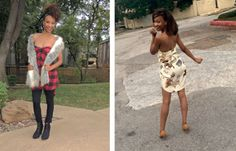 Addie's Amazing No-Sew Shirt Transformation(s)!   Refashion Nation