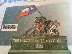 After Harvey in a Hawaiian Newspaper