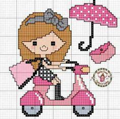 Tiny Cross Stitch, Cross Stitch Alphabet, Cross Stitch Designs, Cross Stitch Patterns, Cross Stitching, Cross Stitch Embroidery, Stitch Doll, Needlepoint Patterns, Tapestry Crochet