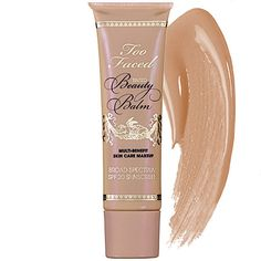 """10/3: """"Whether I have an hour or five minutes to do my makeup, Too Faced's BB Cream is always a part of my routine. It gives me a refreshed-looking dewy finish and takes seconds to apply—I don't even need a makeup brush."""" —Janine J., Beauty Advisor"""