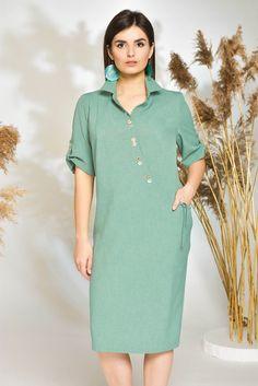 Платье женское стильное полуприлегающего силуэта, летнее платье 2019, повседневное, для полных Pakistani Dresses Casual, Casual Dresses, Summer Dresses, Hijab Fashion, Fashion Dresses, Kurti Neck Designs, Designs For Dresses, Maternity Dresses, Plus Size Outfits