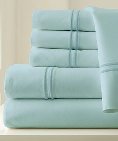 Sterling Blue 1000-Thread Count Six-Piece Sheet Set