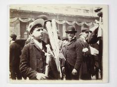 Souvenir Street Seller, Edward VII Coronation